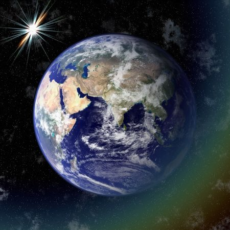 3292471 - earth blue planet in space